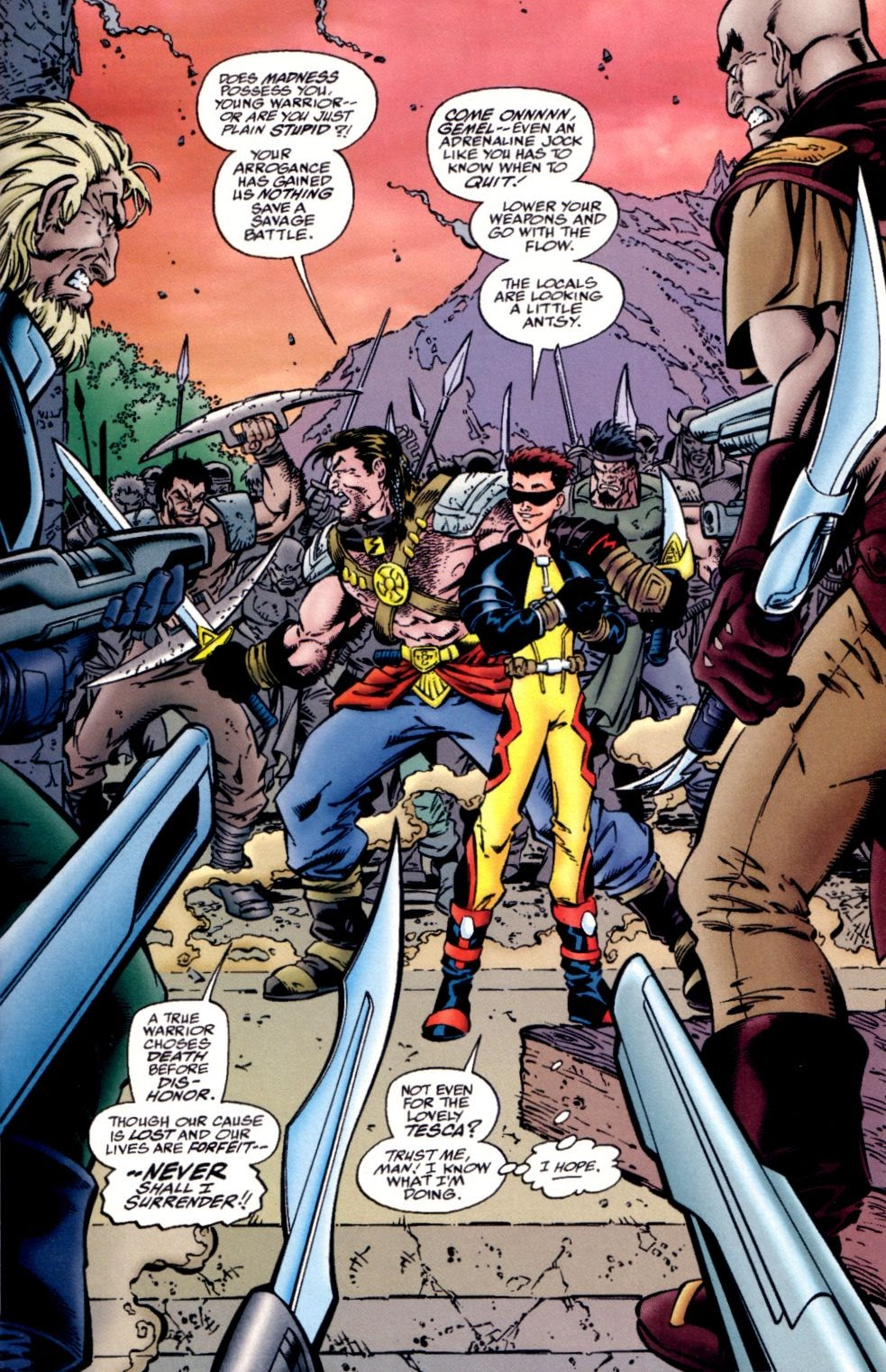 Read online Randy O'Donnell is The M@N comic -  Issue #2 - 12