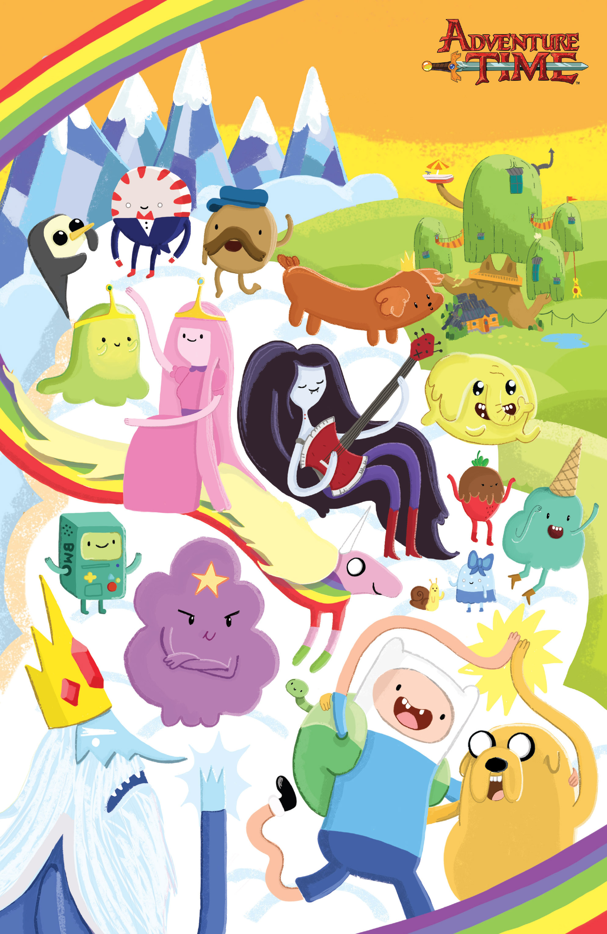 Read online Adventure Time comic -  Issue #26 - 4