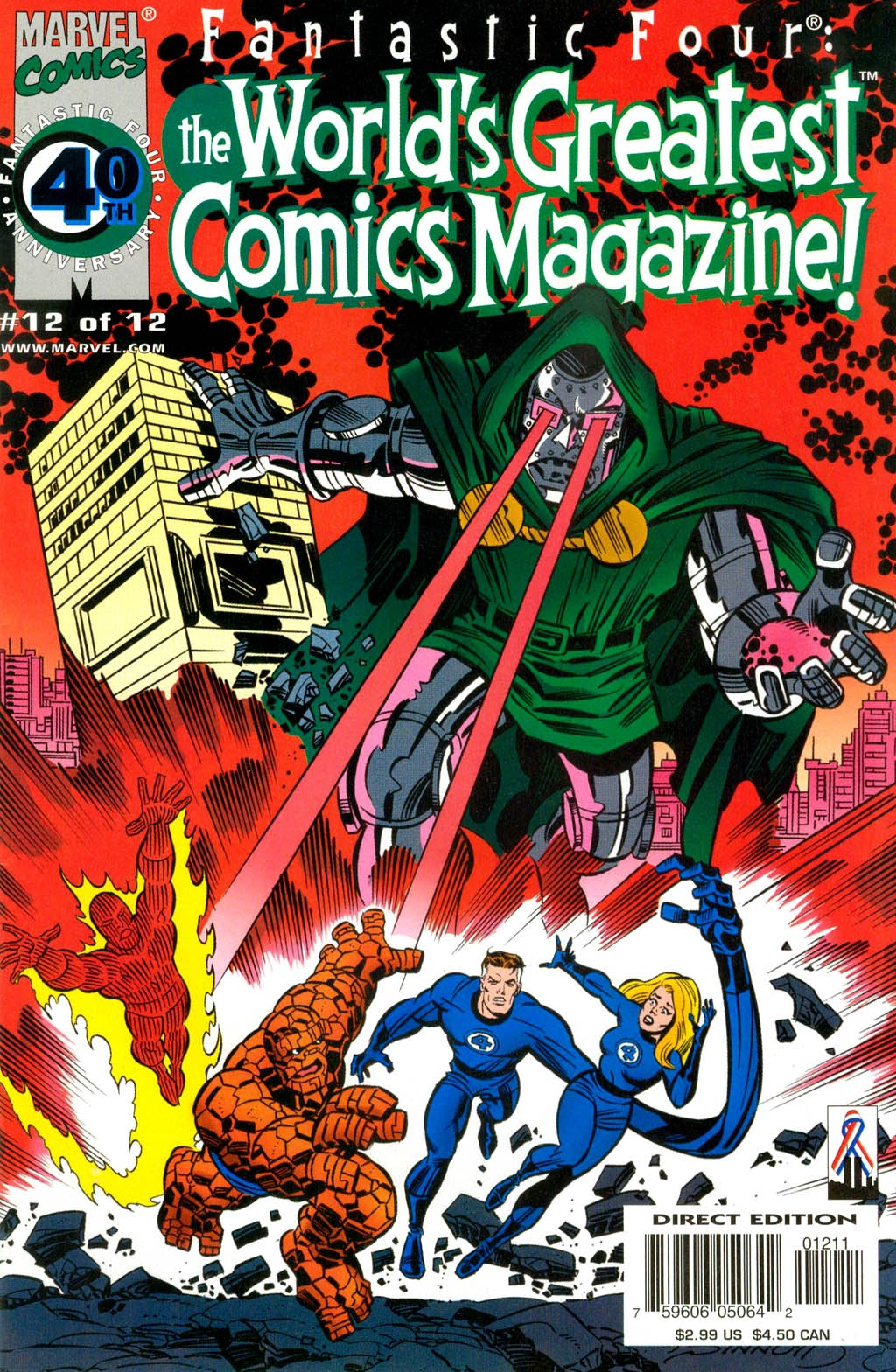 Fantastic Four: Worlds Greatest Comics Magazine 12 Page 1