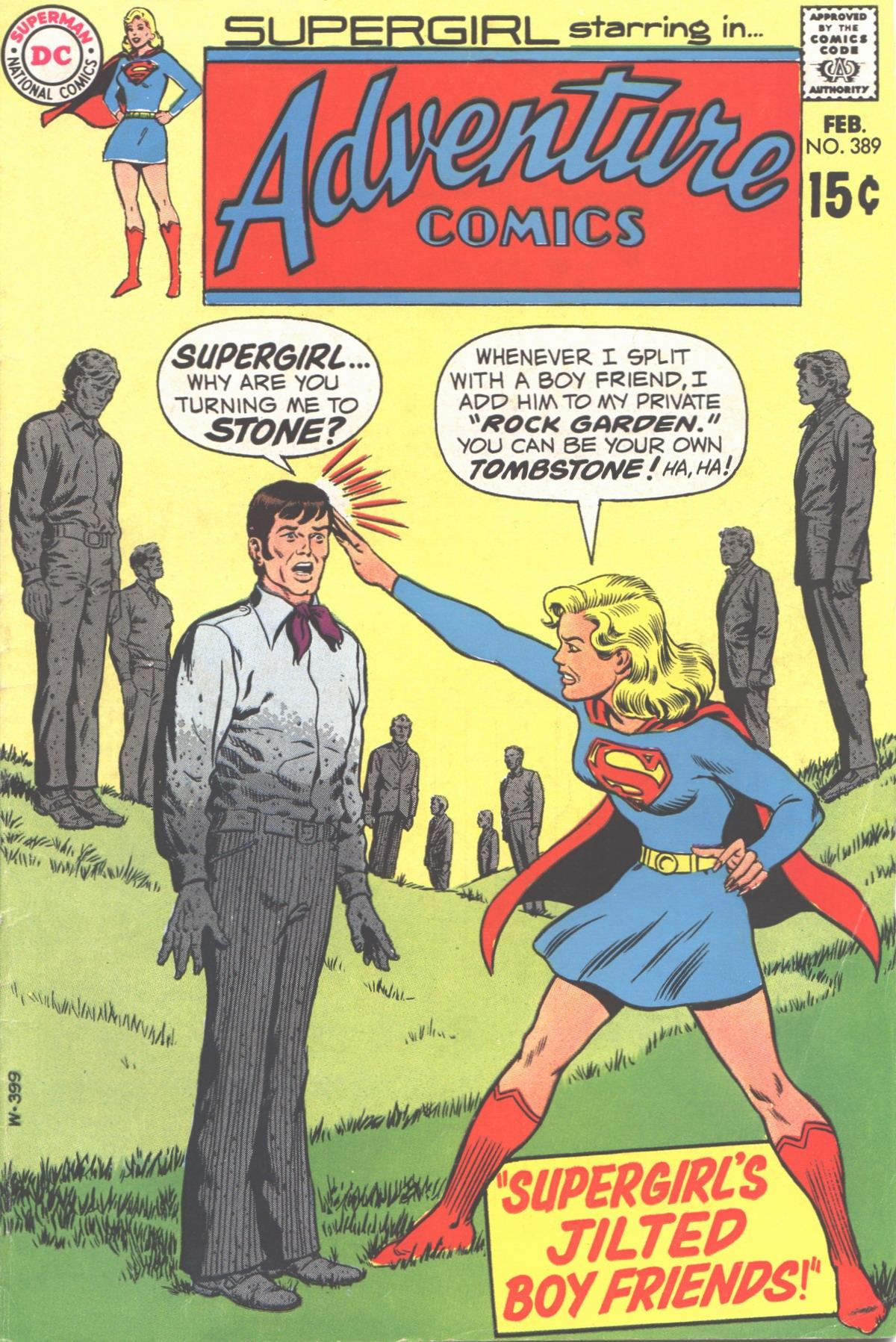 Read online Adventure Comics (1938) comic -  Issue #389 - 1