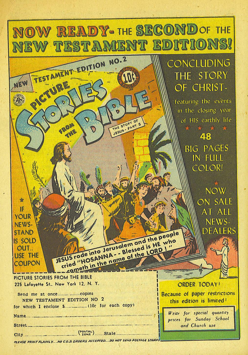 Read online Sensation (Mystery) Comics comic -  Issue #42 - 34