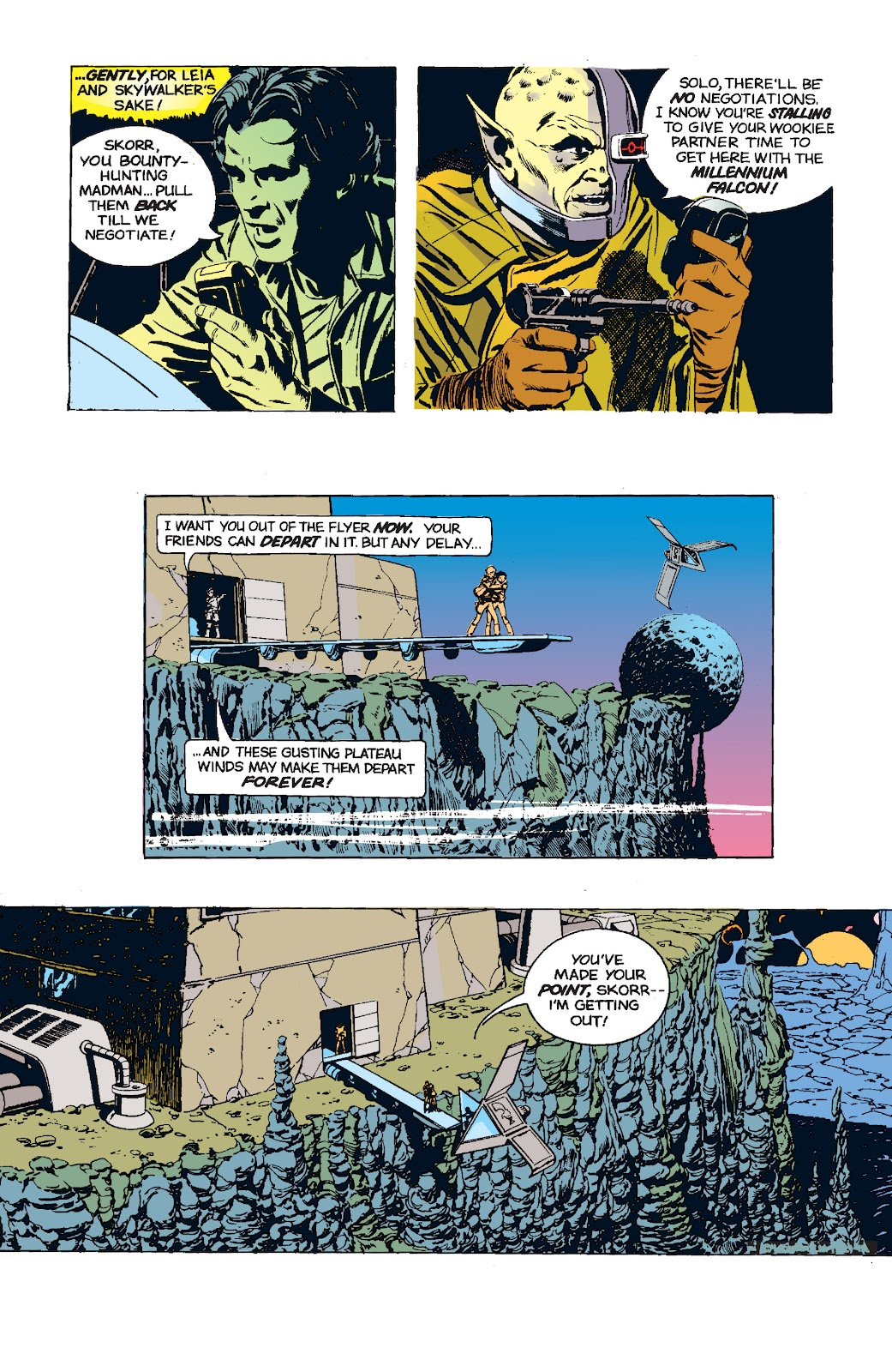 Read online Star Wars Legends: The Newspaper Strips - Epic Collection comic -  Issue # TPB (Part 5) - 11
