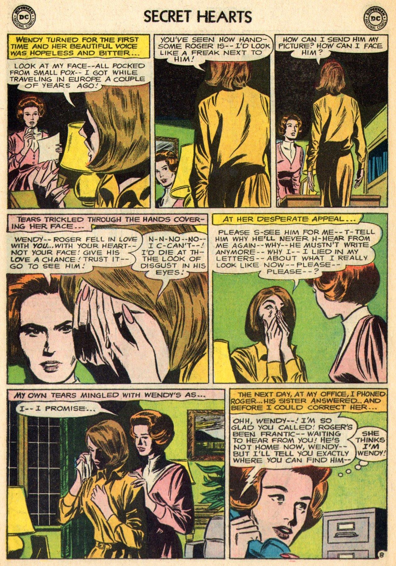 Read online Secret Hearts comic -  Issue #96 - 30
