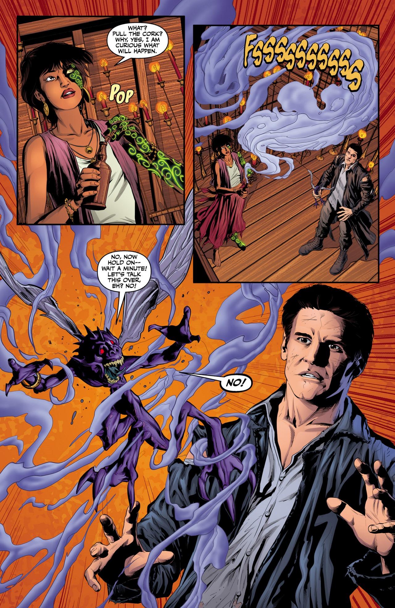 Read online Angel & Faith Season 10 comic -  Issue #4 - 17