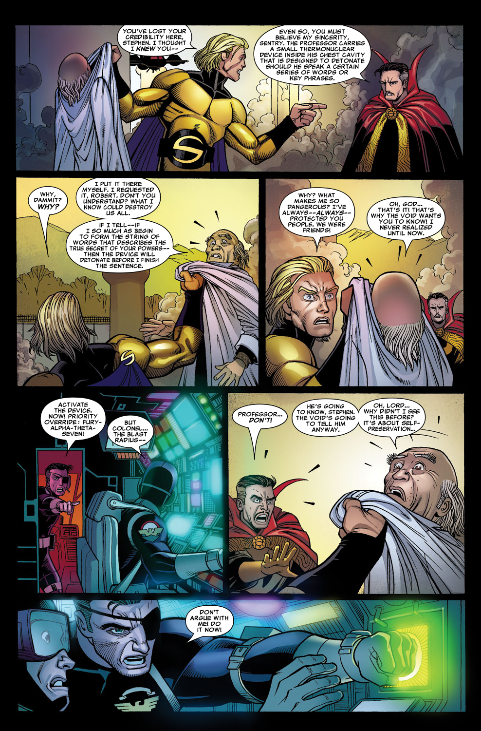Read online Sentry (2006) comic -  Issue #7 - 20