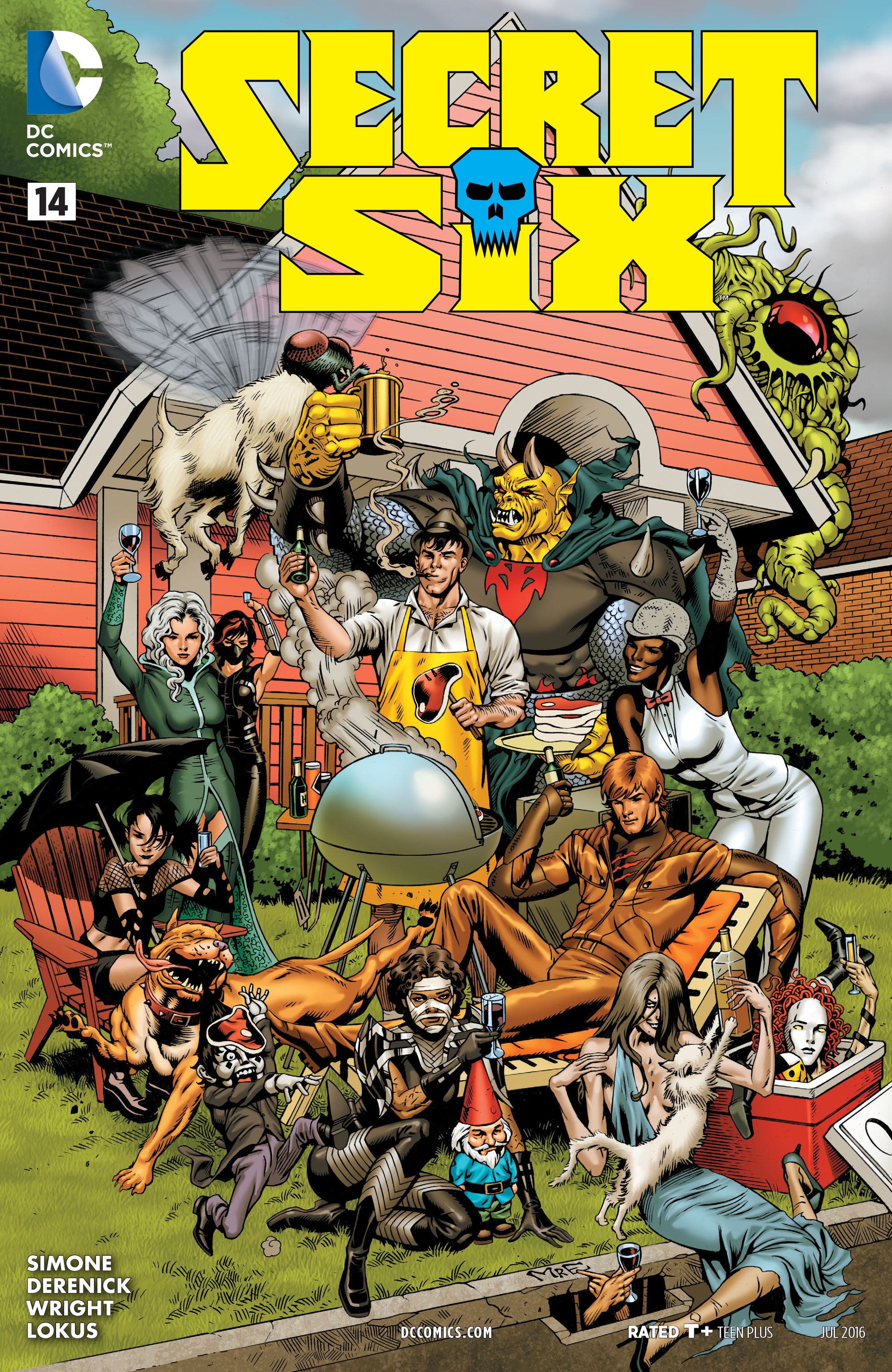 Read online Secret Six (2015) comic -  Issue #14 - 1
