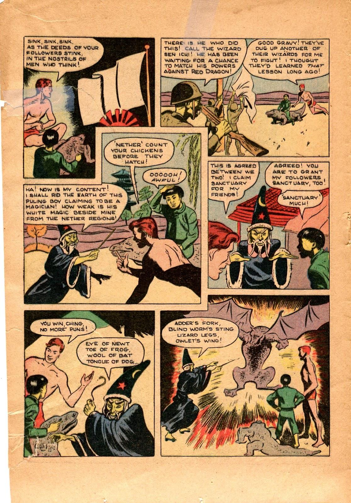 Read online Super-Magician Comics comic -  Issue #34 - 18