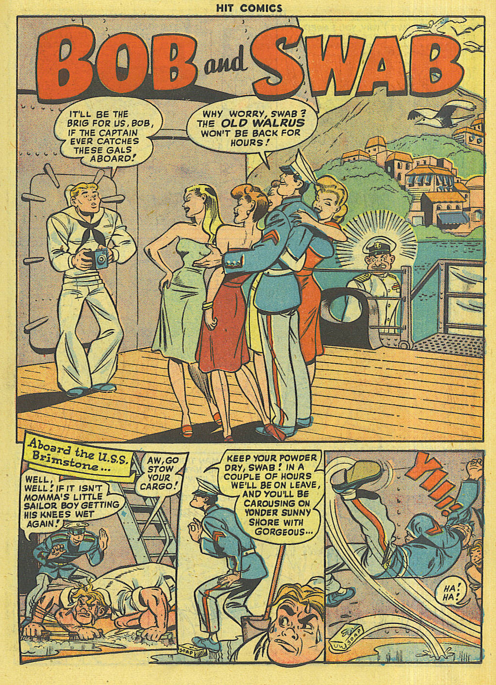 Read online Hit Comics comic -  Issue #56 - 21
