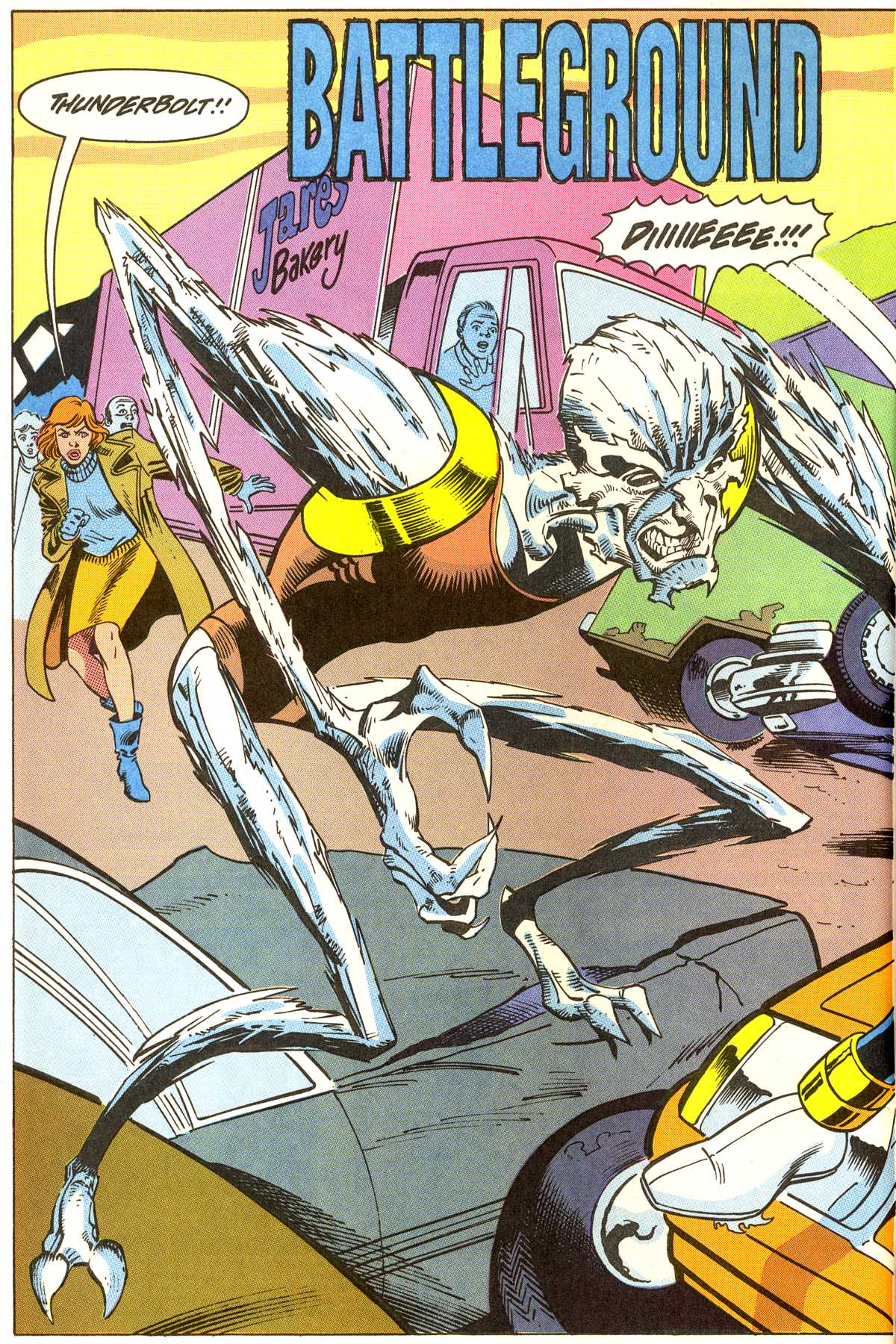 Read online Peter Cannon--Thunderbolt (1992) comic -  Issue #7 - 3