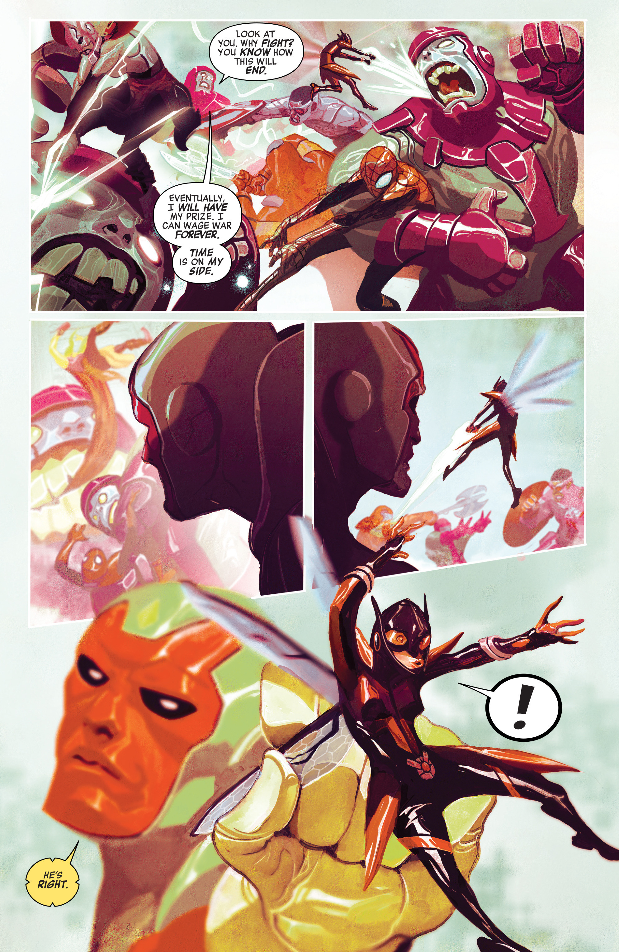 Read online Avengers (2016) comic -  Issue #2 - 21