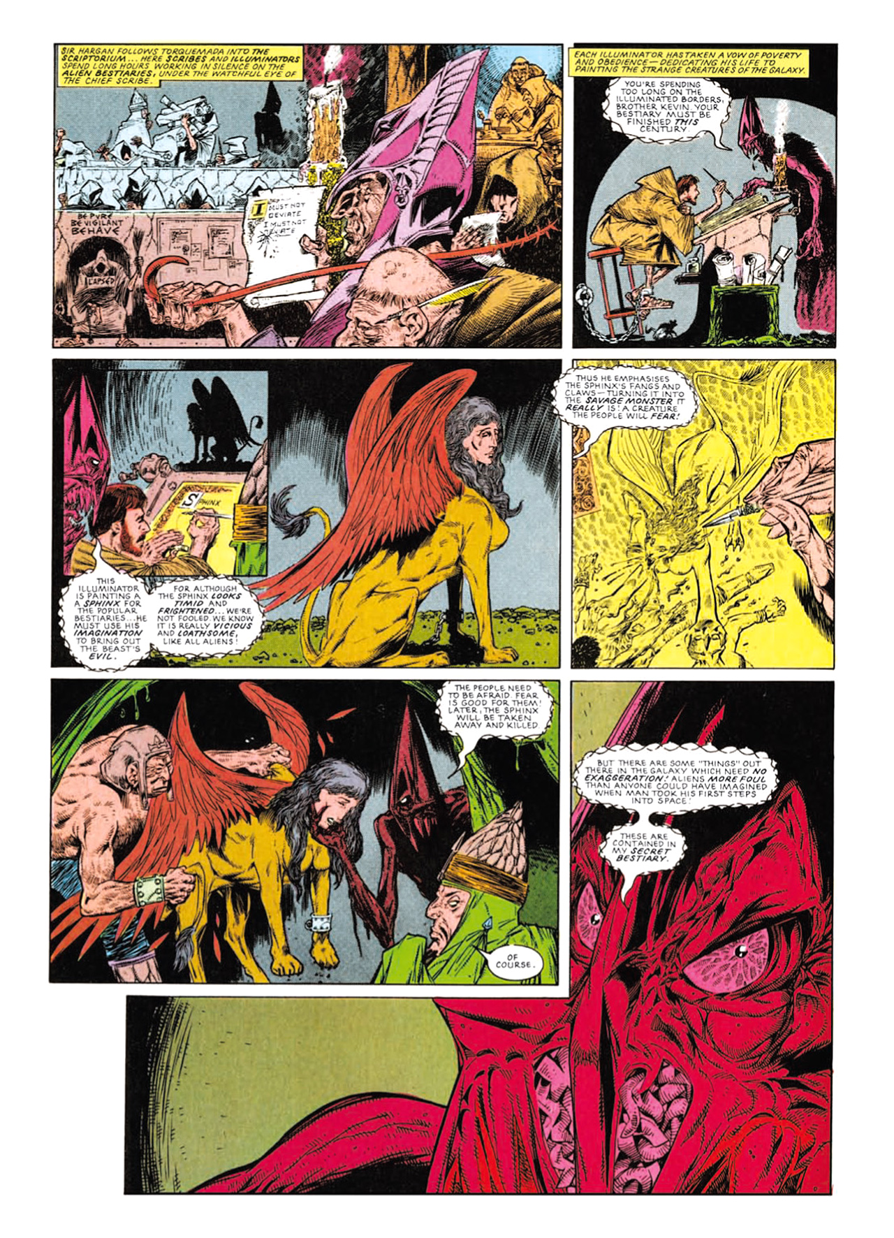 Read online Nemesis The Warlock comic -  Issue # TPB Deviant Edition - 171