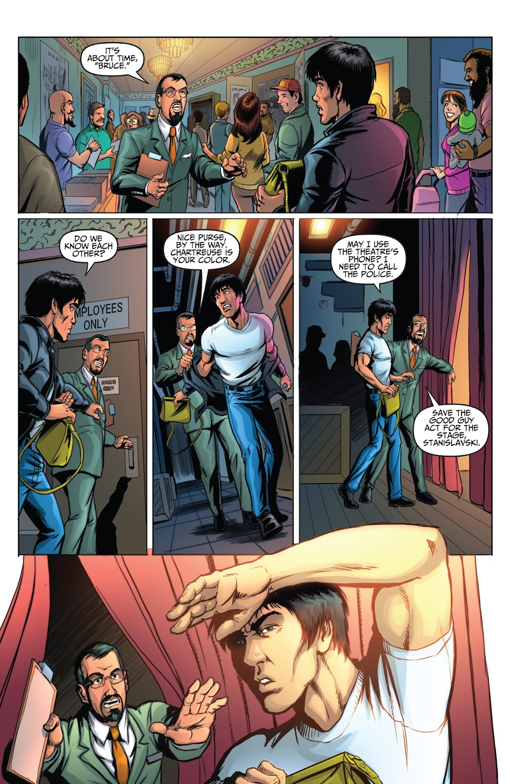 Bruce Lee: Walk of the Dragon issue Full - Page 14