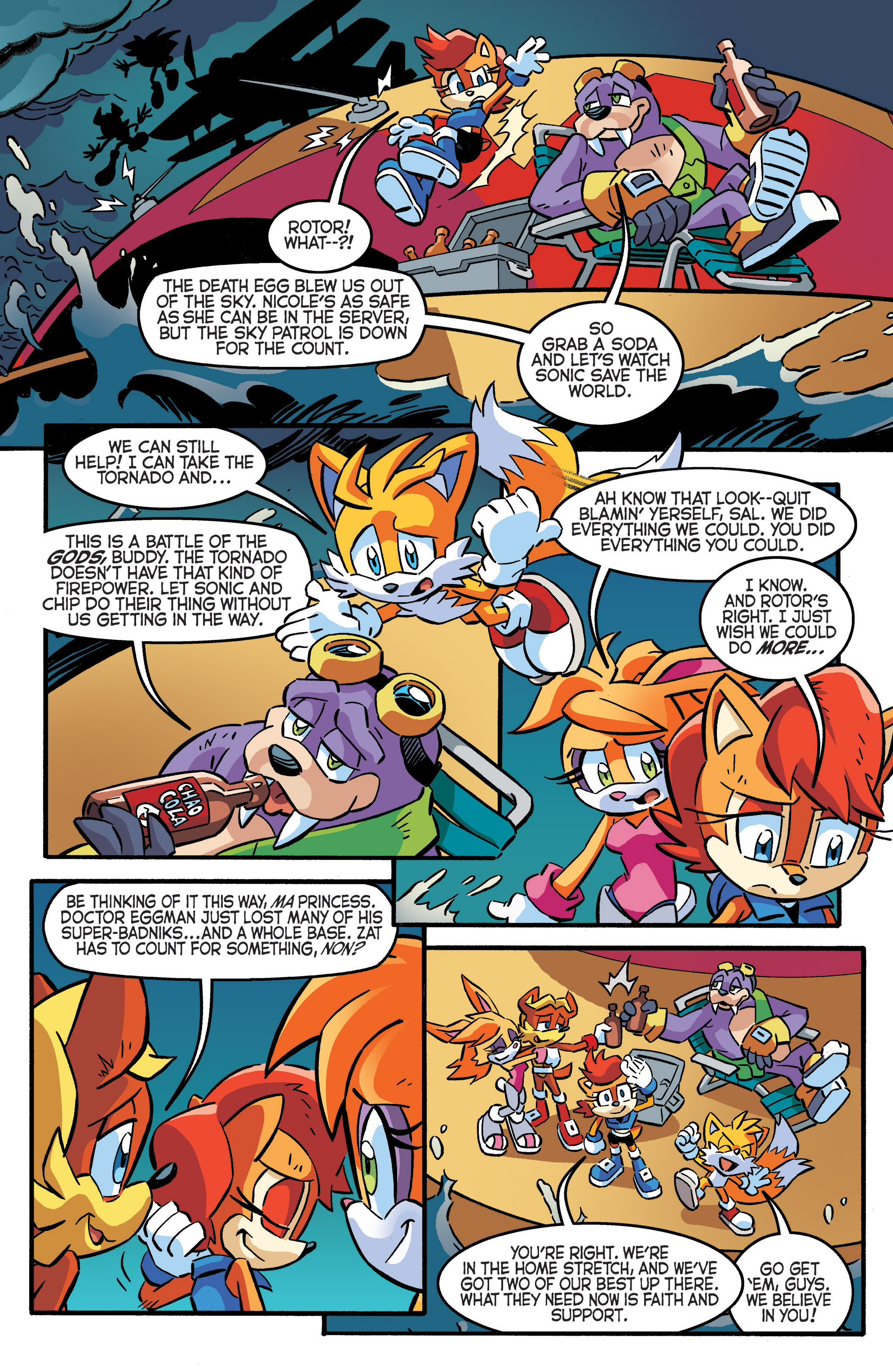 Read online Sonic The Hedgehog comic -  Issue #287 - 7