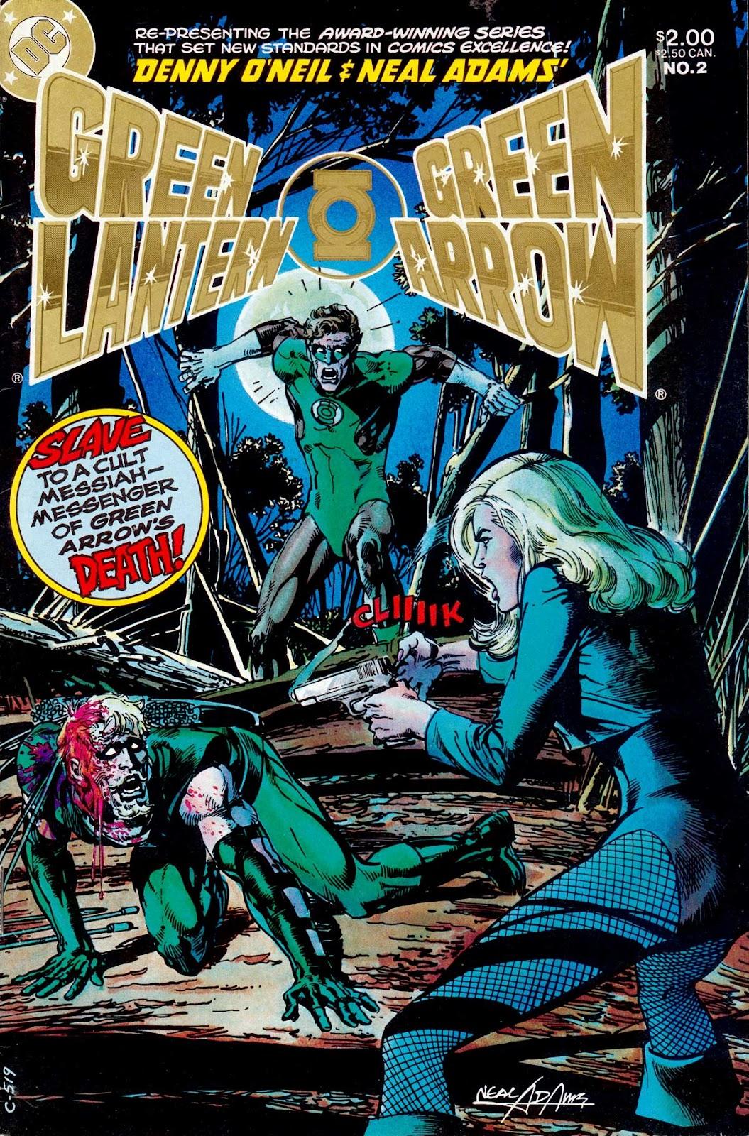Green Lantern/Green Arrow 2 Page 1