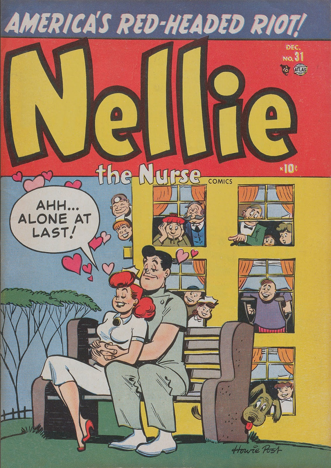 Read online Nellie The Nurse (1945) comic -  Issue #31 - 1
