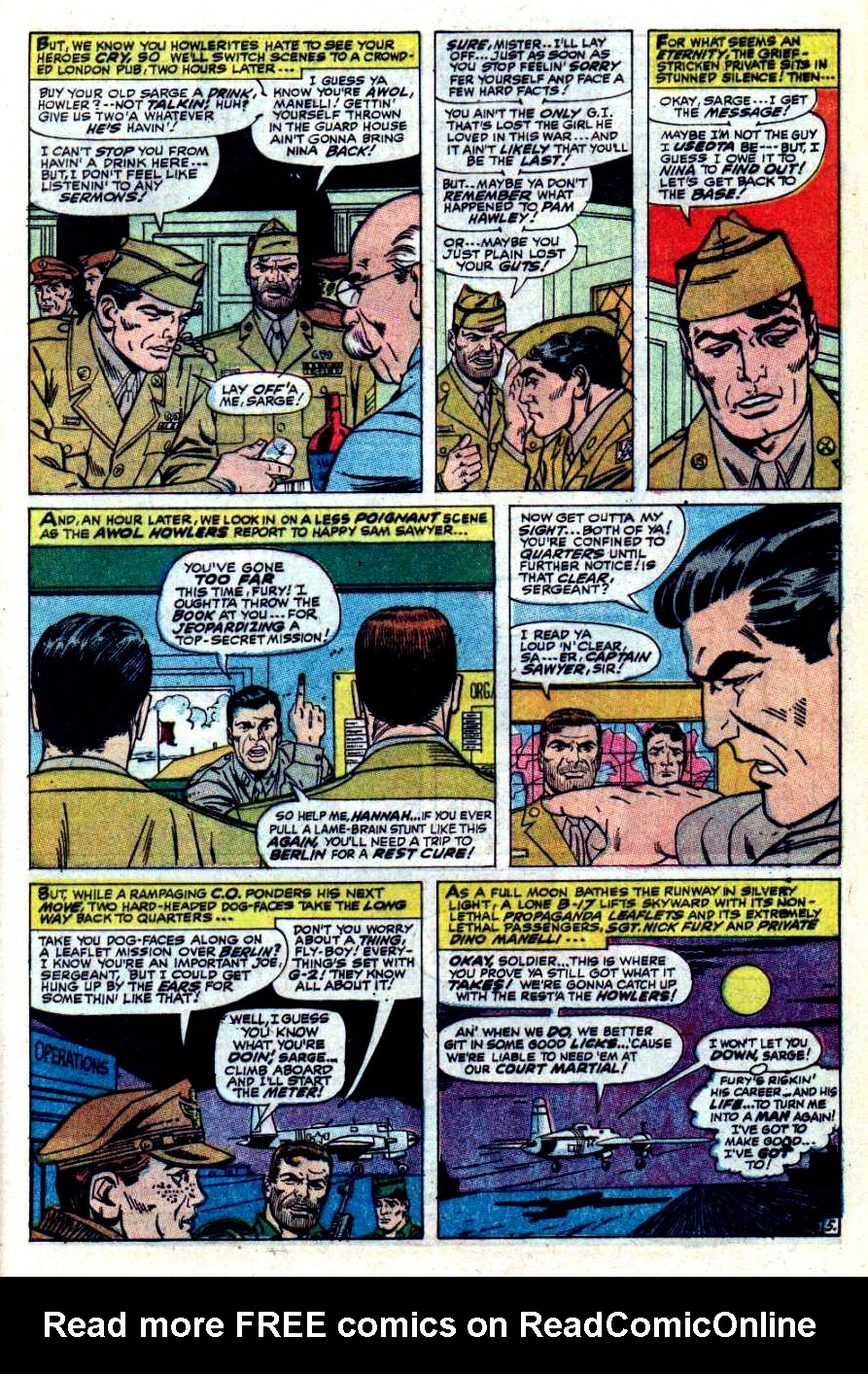 Read online Sgt. Fury comic -  Issue #42 - 9