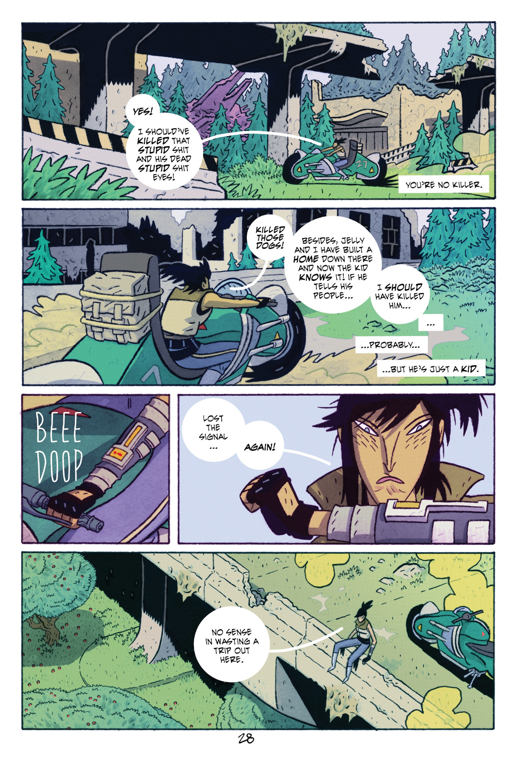 Read online ApocalyptiGirl: An Aria for the End Times comic -  Issue #ApocalyptiGirl: An Aria for the End Times Full - 36