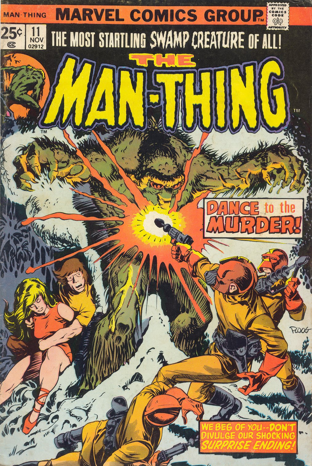 Man-Thing (1974) issue 11 - Page 1
