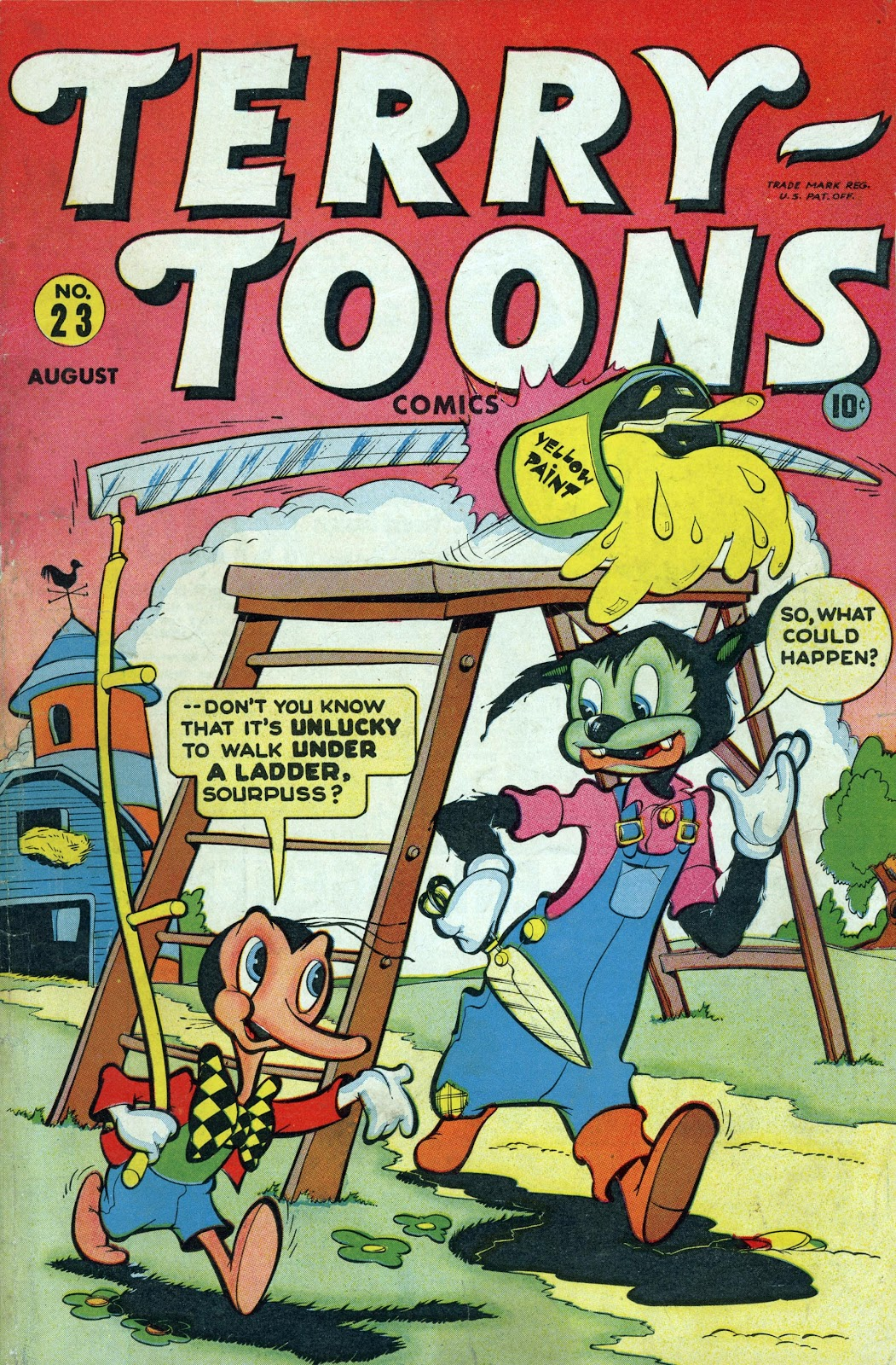 Terry-Toons Comics issue 23 - Page 1