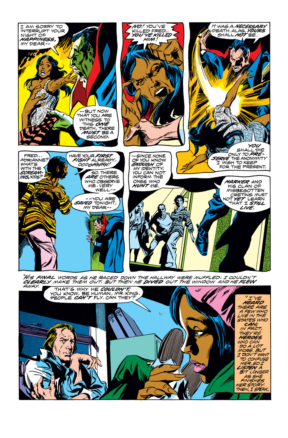 Tomb of Dracula (1972) issue 25 - Page 5