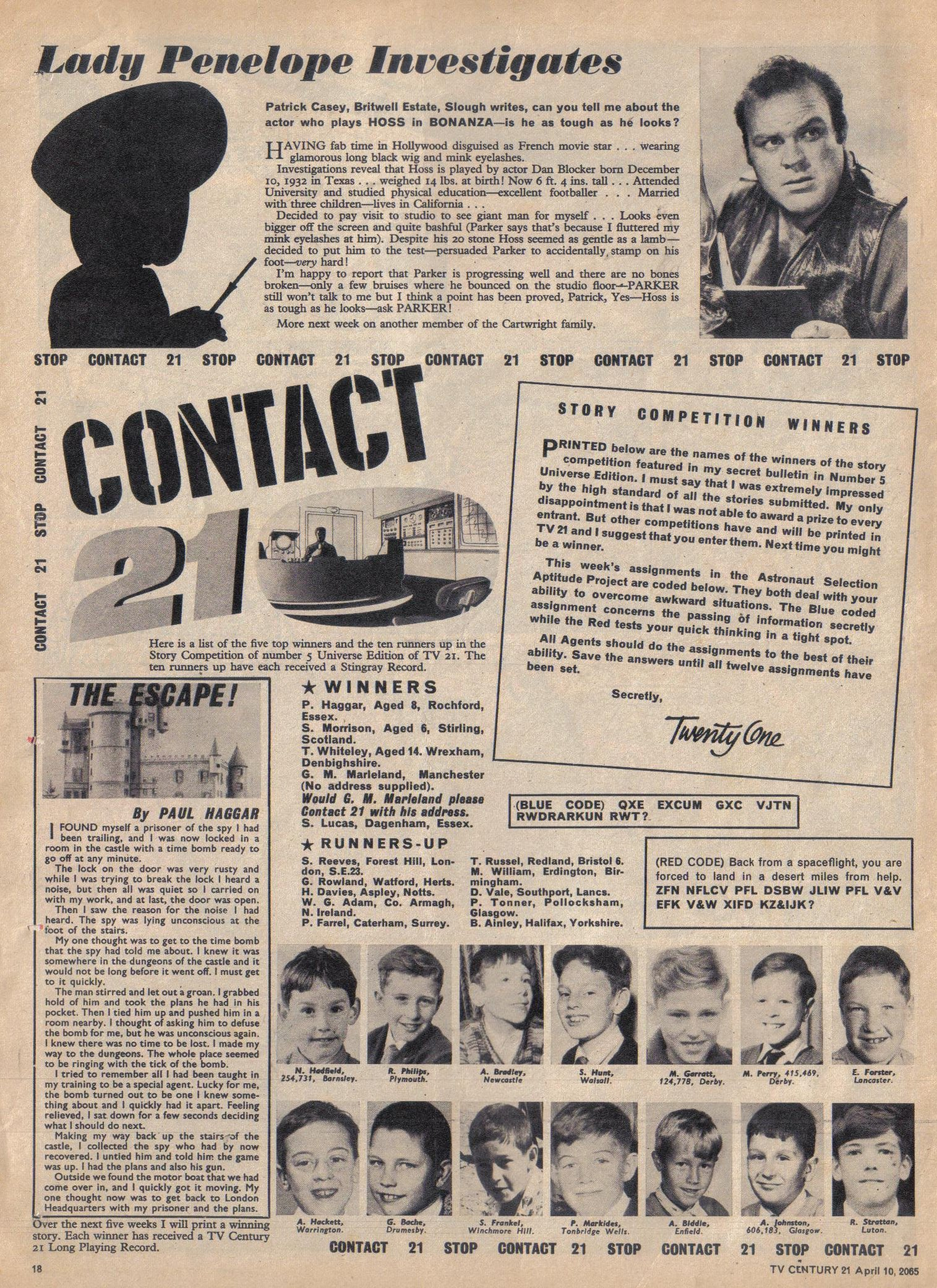 Read online TV Century 21 (TV 21) comic -  Issue #12 - 17