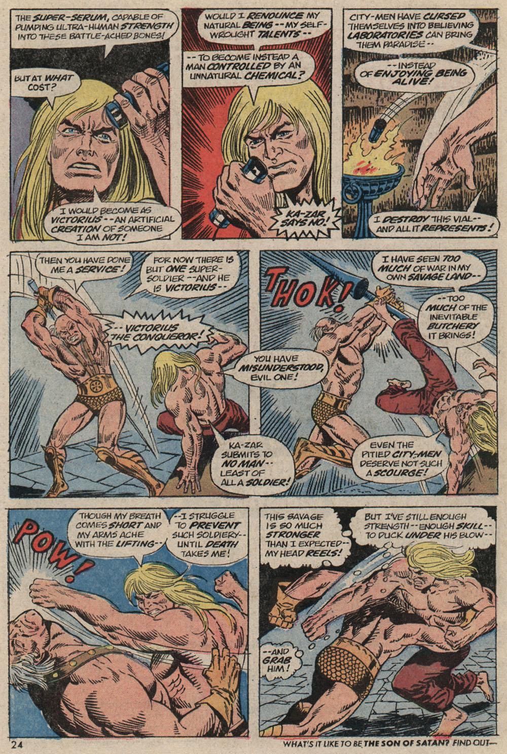Read online Astonishing Tales (1970) comic -  Issue #20 - 17