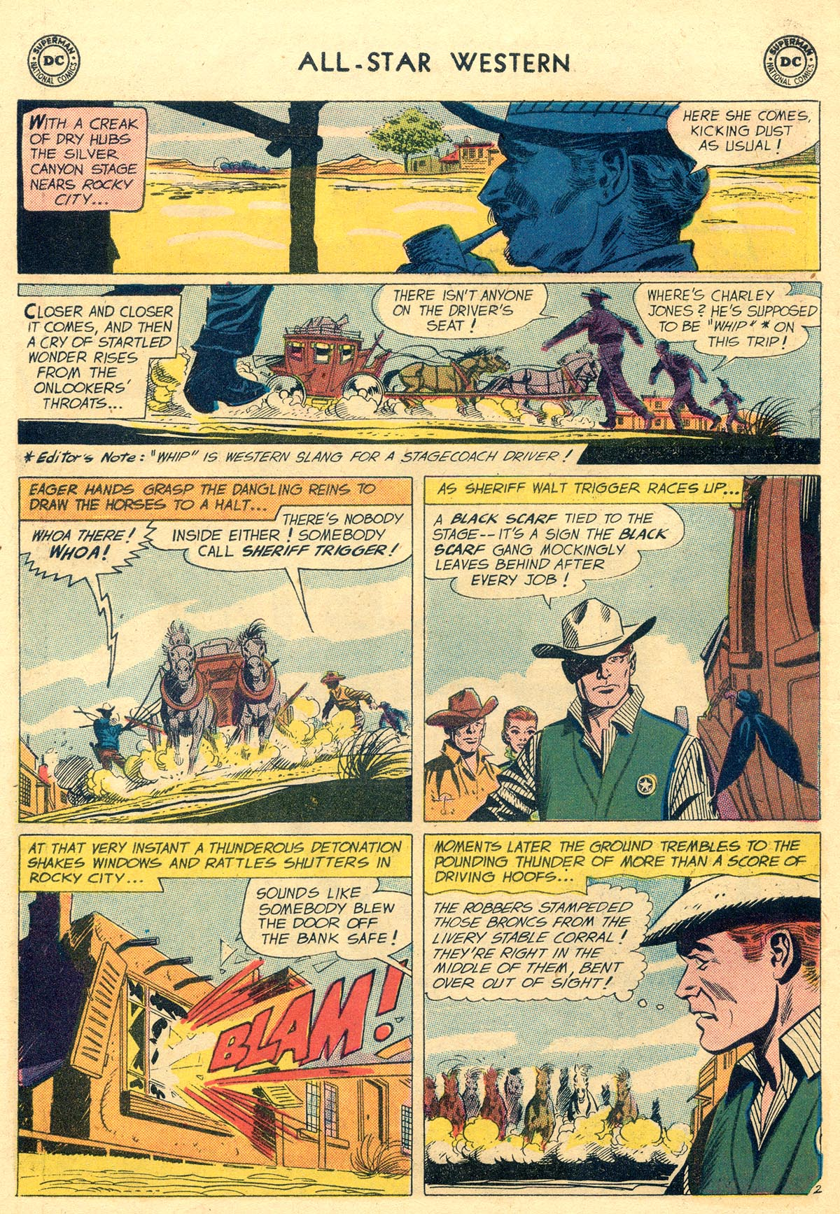 Read online All-Star Western (1951) comic -  Issue #109 - 26