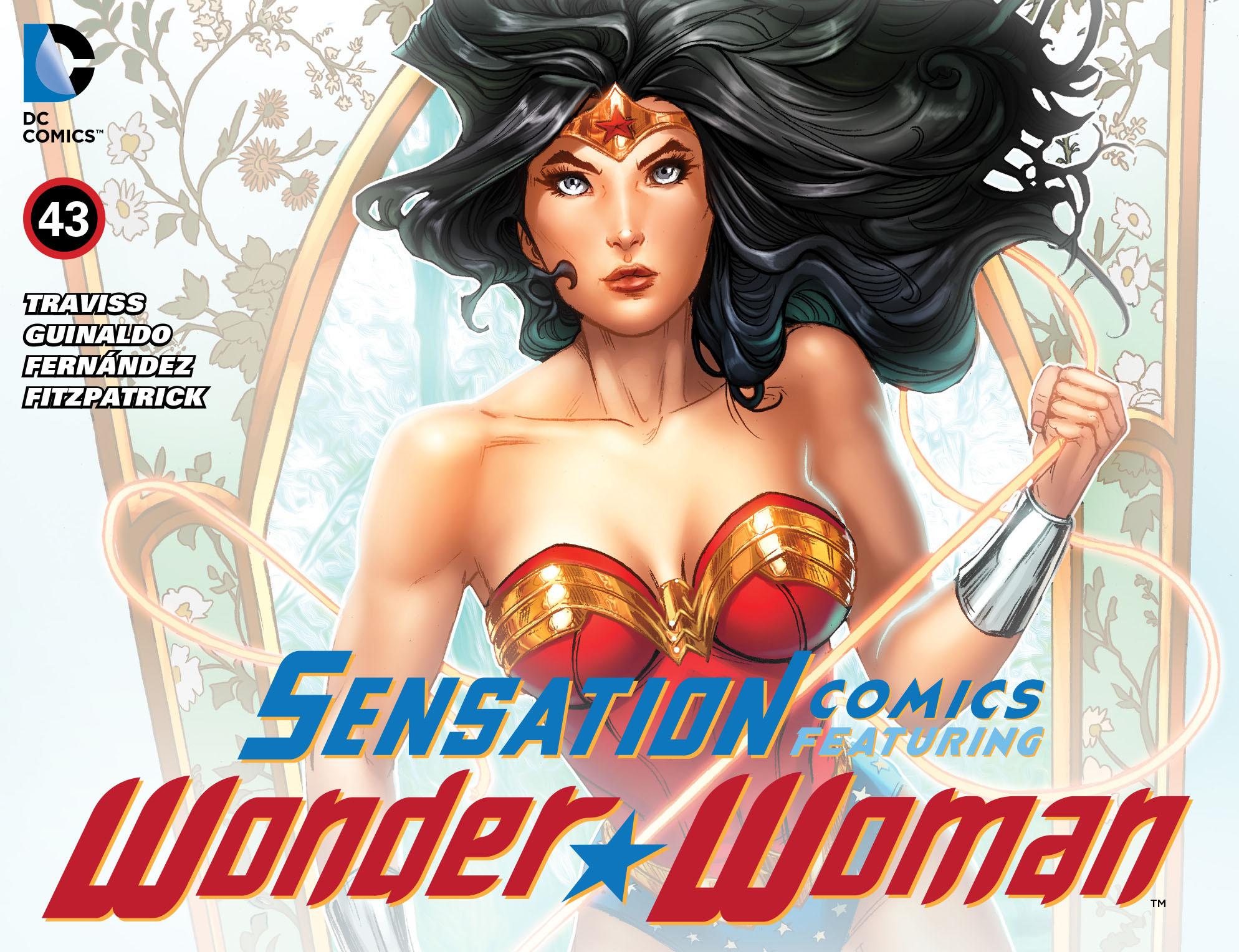 Read online Sensation Comics Featuring Wonder Woman comic -  Issue #43 - 1