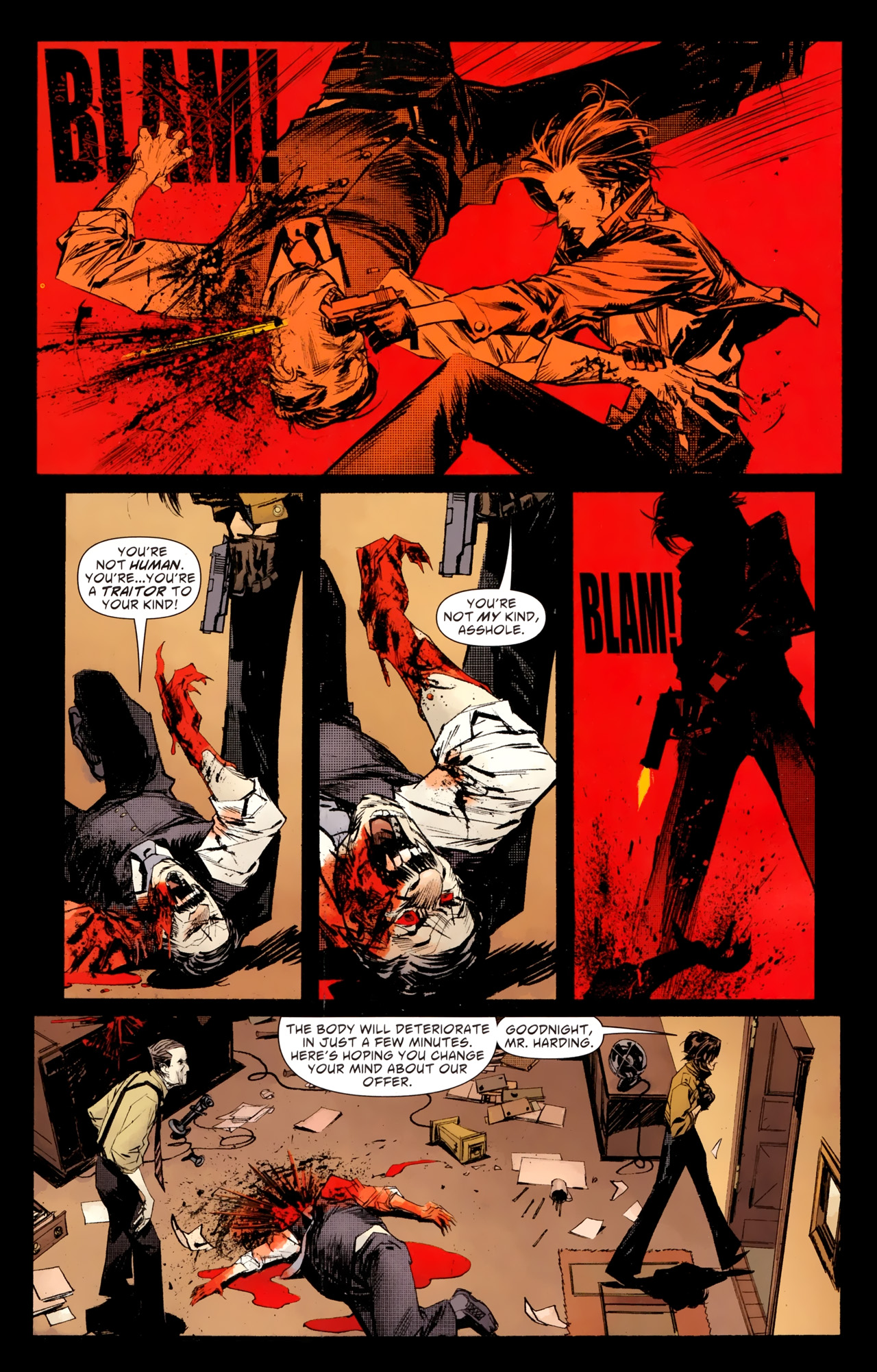 Read online American Vampire: Survival of the Fittest comic -  Issue #1 - 9