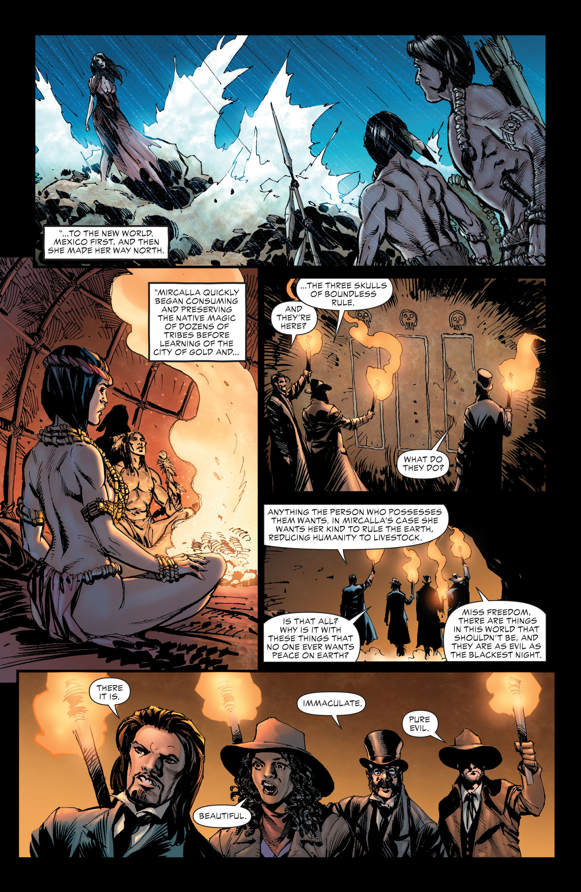Read online All-Star Western (2011) comic -  Issue #20 - 25