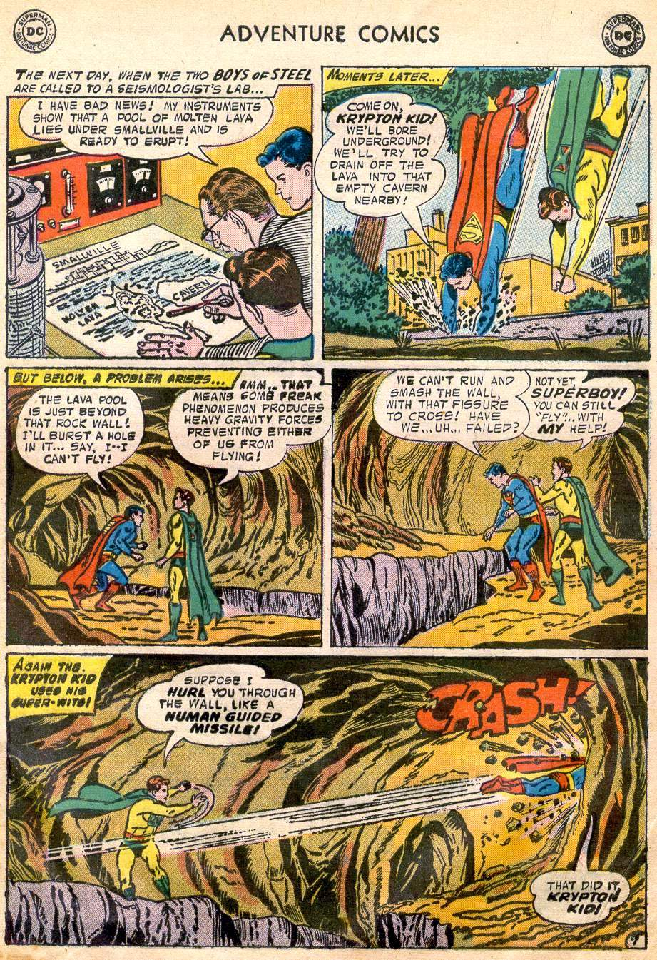 Read online Adventure Comics (1938) comic -  Issue #242 - 9