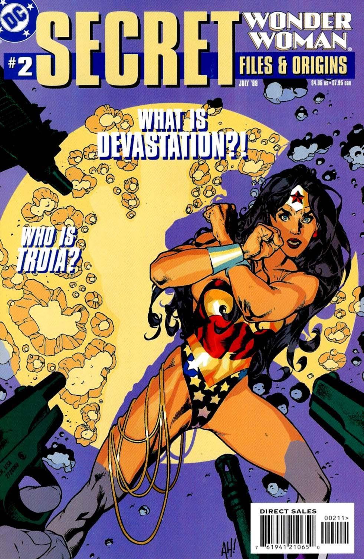 Wonder Woman Secret Files 2 Page 1
