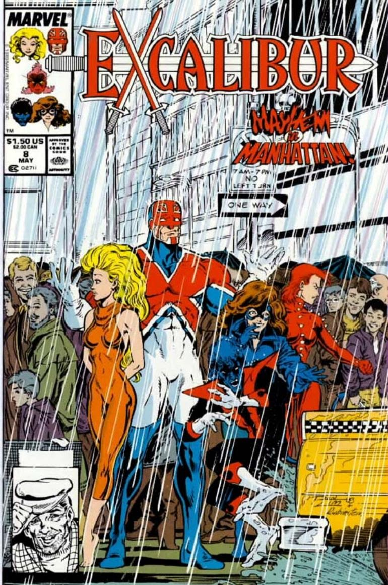 Excalibur (1988) issue 8 - Page 1