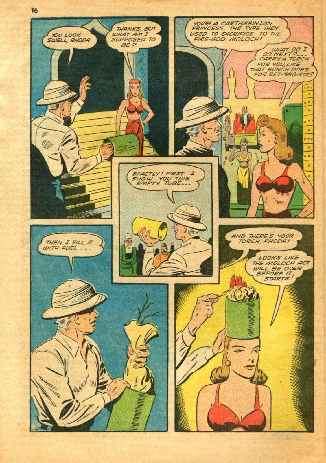 Read online Super-Magician Comics comic -  Issue #11 - 16