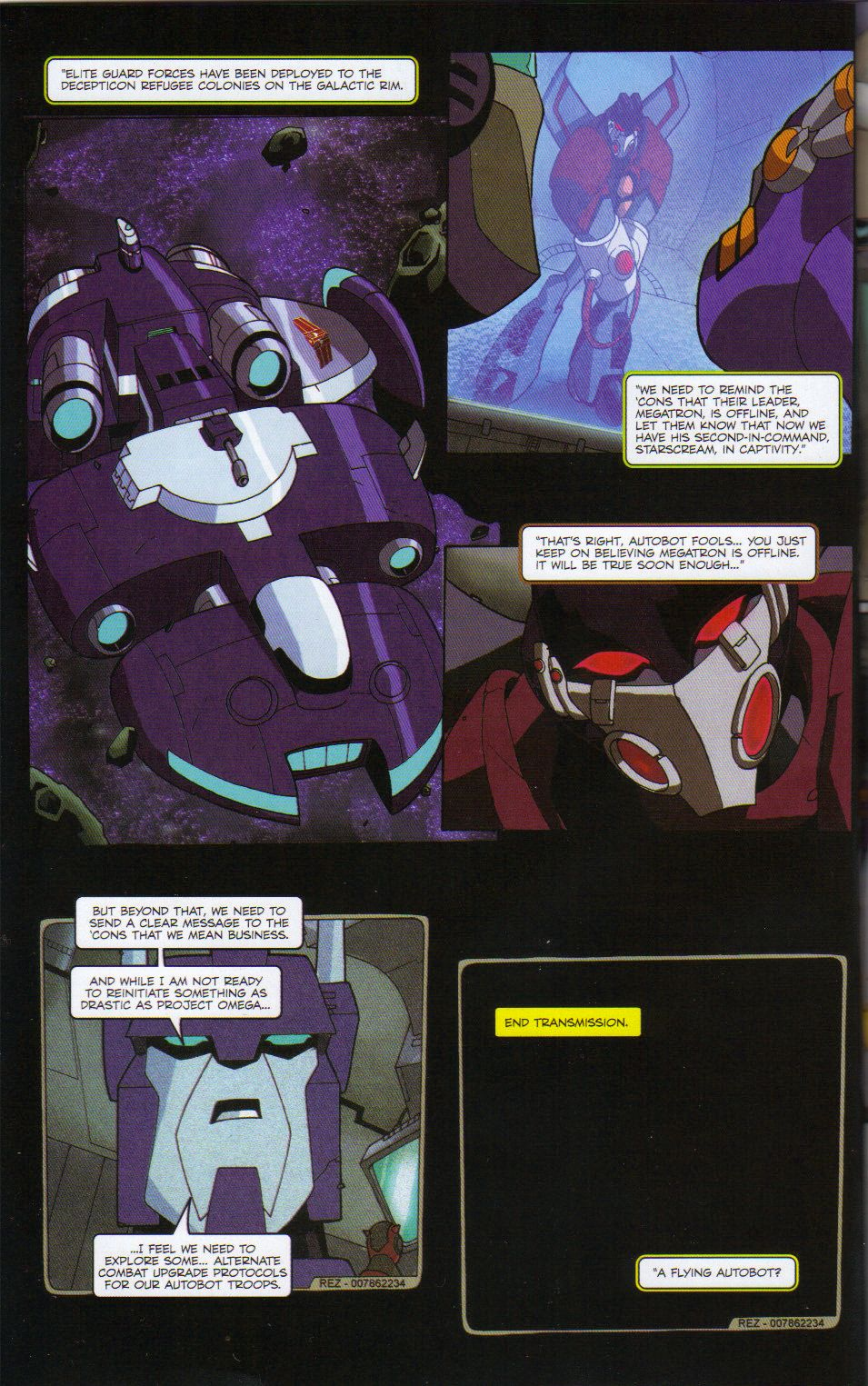 Read online Transformers Animated: The Arrival comic -  Issue #6 - 4