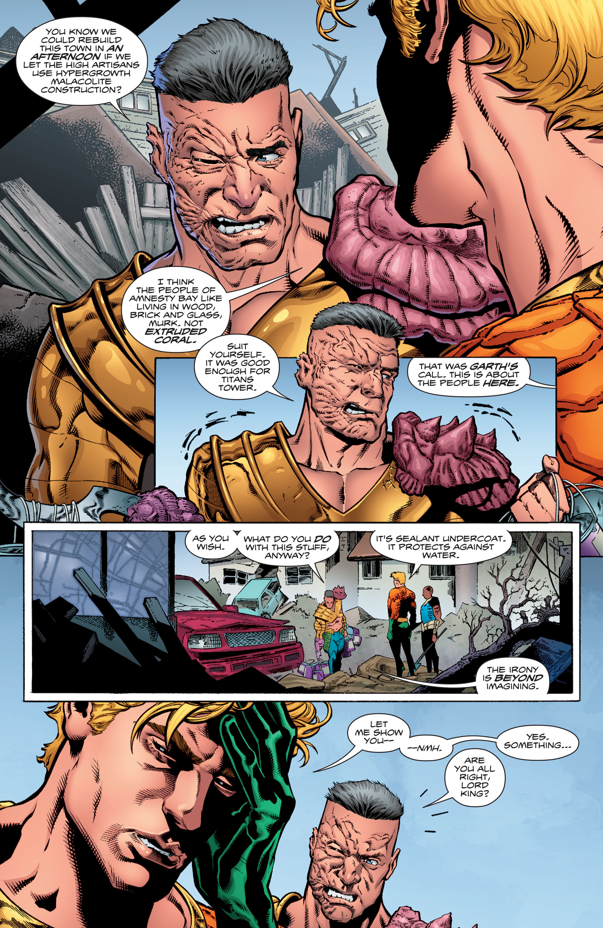 Read online Aquaman (2016) comic -  Issue #16 - 11