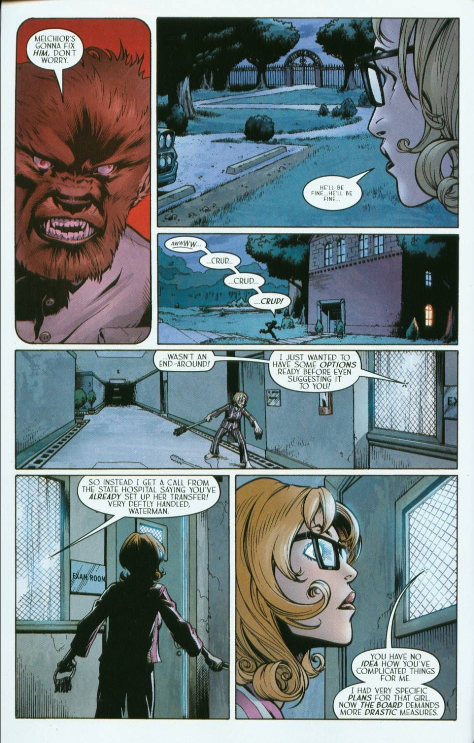 Read online Route 666 comic -  Issue #2 - 22