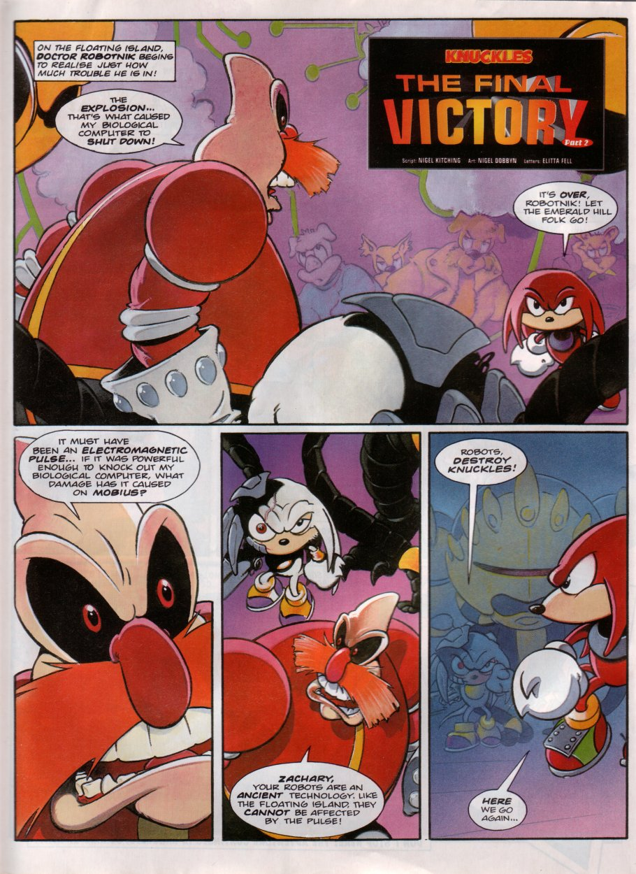 Read online Sonic the Comic comic -  Issue #100 - 10