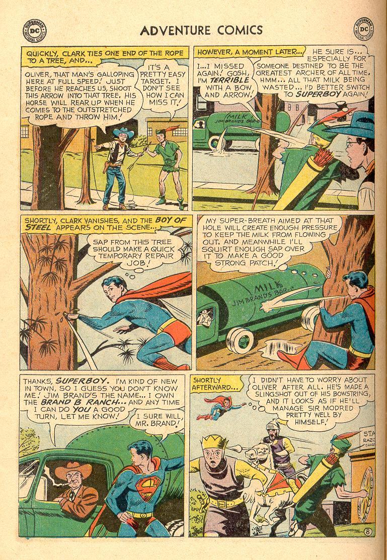Read online Adventure Comics (1938) comic -  Issue #258 - 10