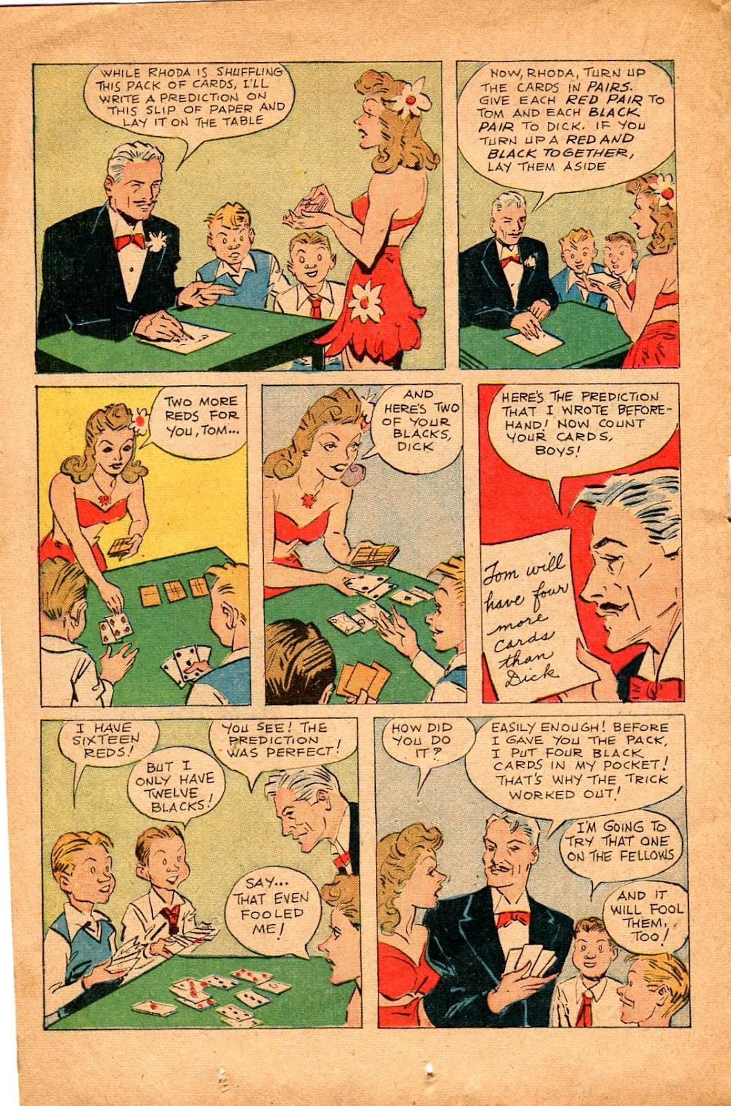Read online Super-Magician Comics comic -  Issue #34 - 26