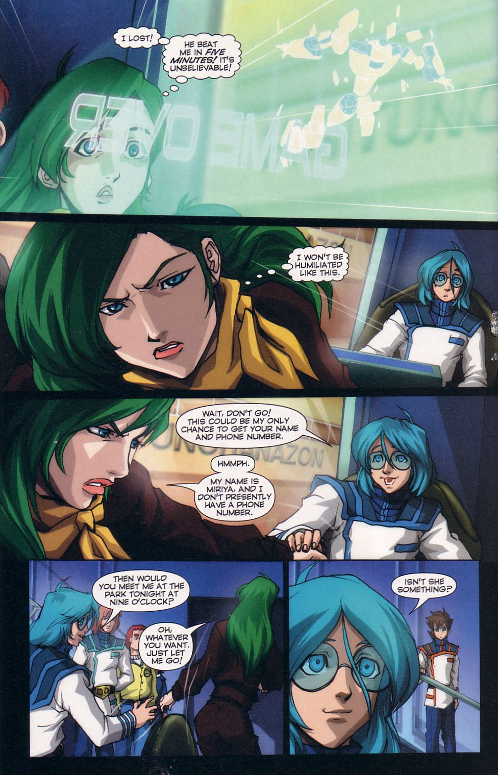 Read online Robotech: Love and War comic -  Issue #5 - 14