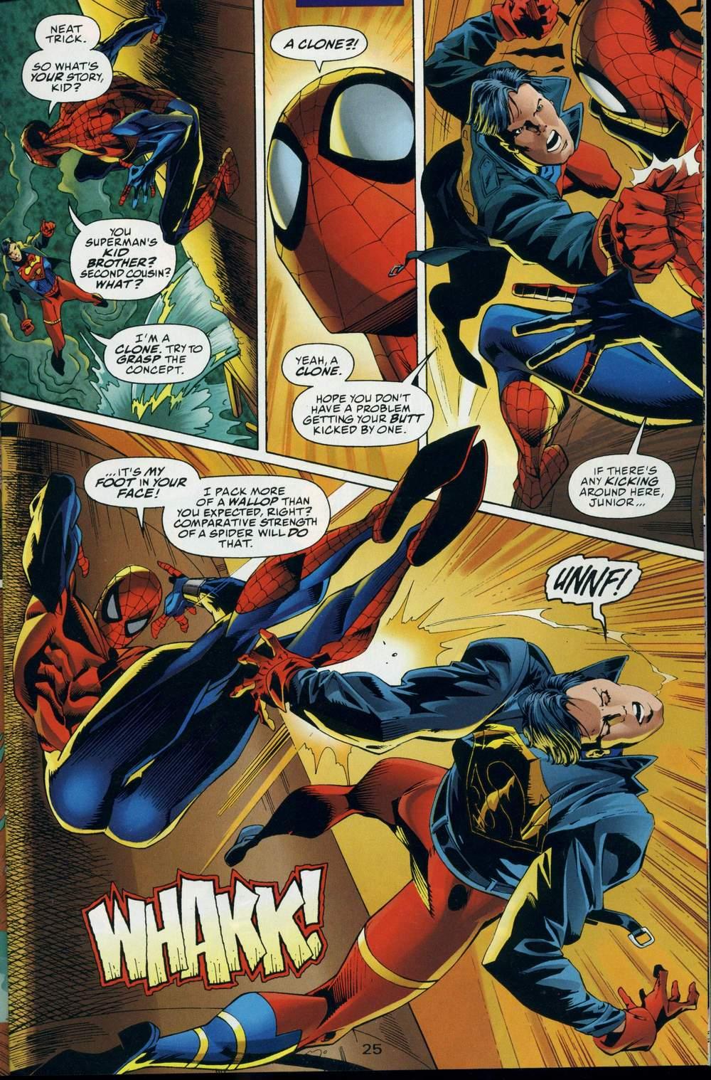 Read online DC Versus Marvel Comics comic -  Issue #3 - 26