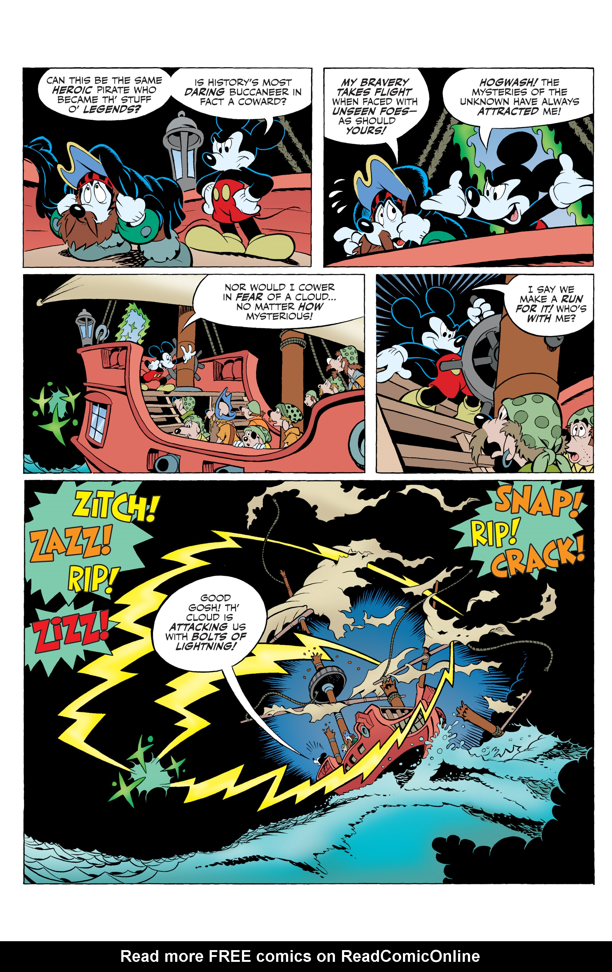 Read online Mickey Mouse (2015) comic -  Issue #20 - 29