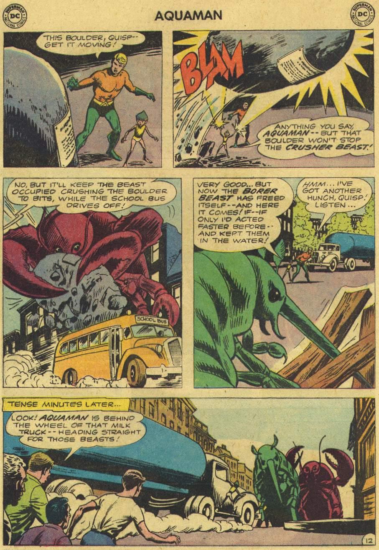 Read online Aquaman (1962) comic -  Issue #6 - 16