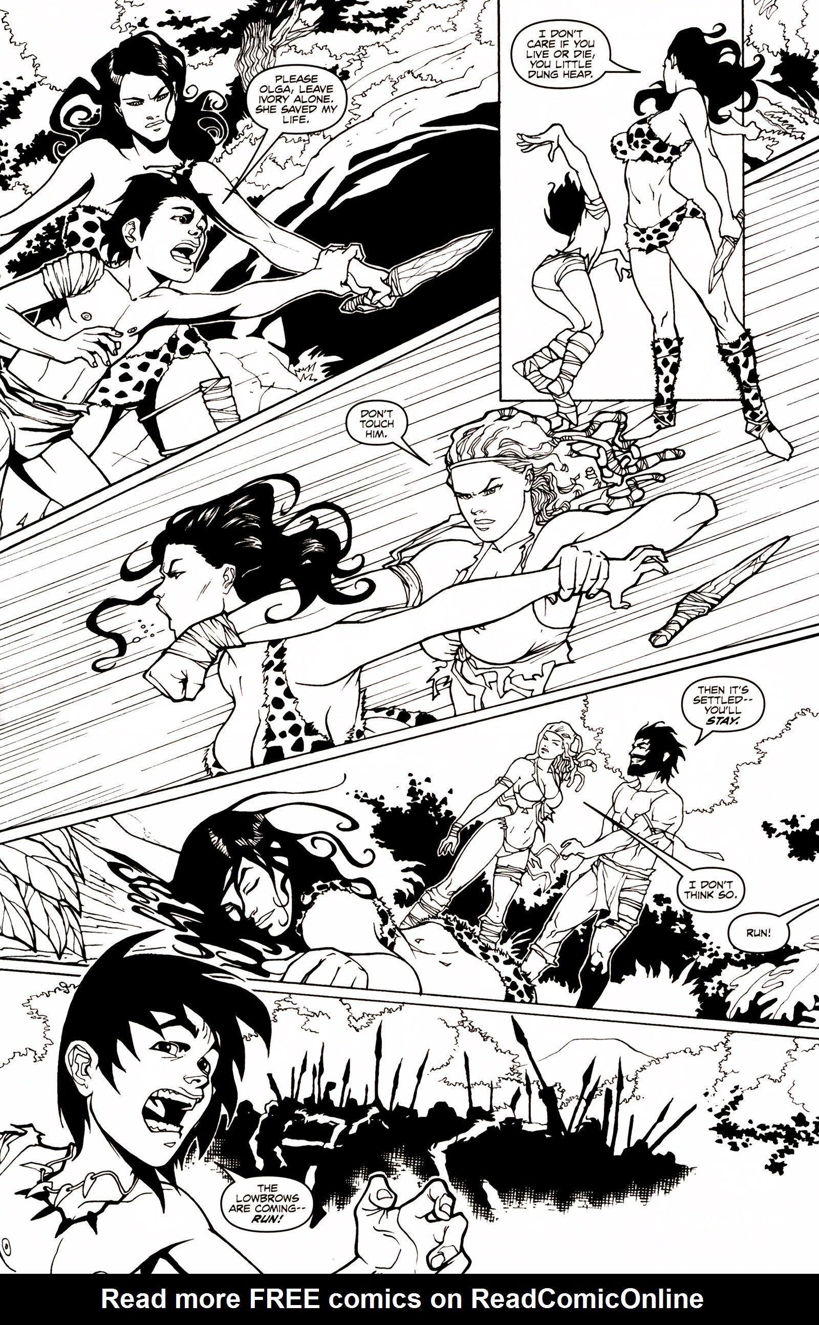 Read online Jungle Fantasy (2002) comic -  Issue # _Annual 1 - 19
