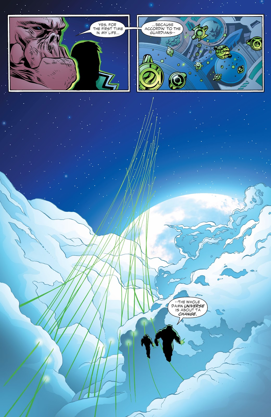 Read online Green Lantern by Geoff Johns comic -  Issue # TPB 1 (Part 3) - 4