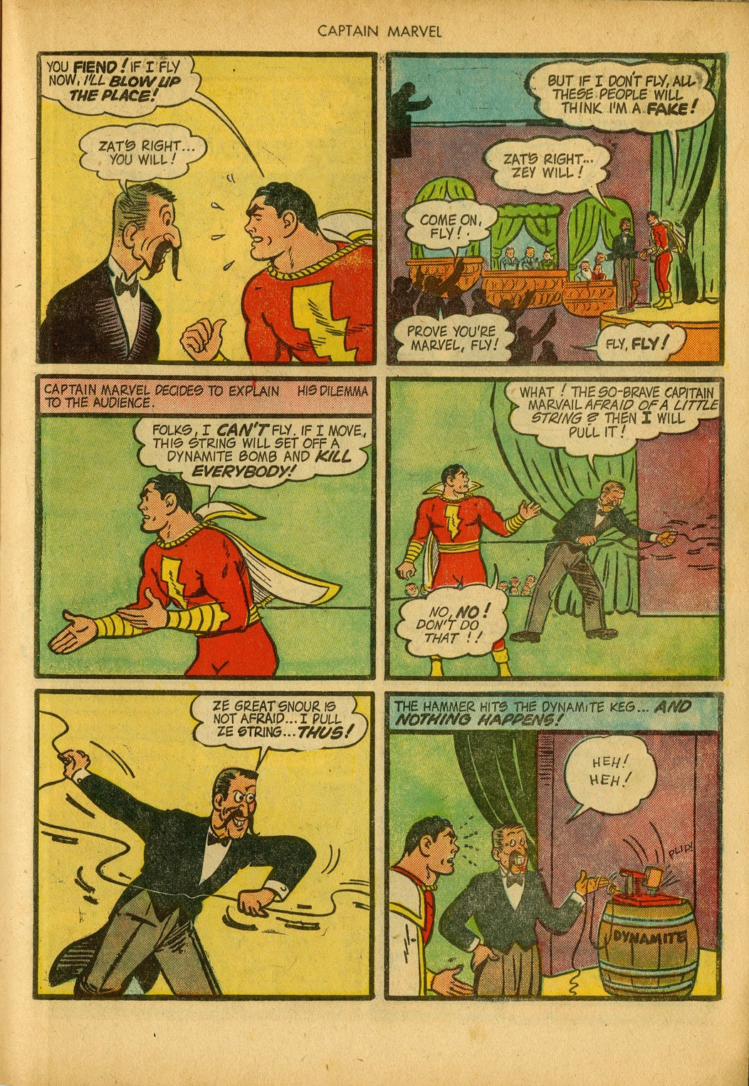 Captain Marvel Adventures issue 34 - Page 41