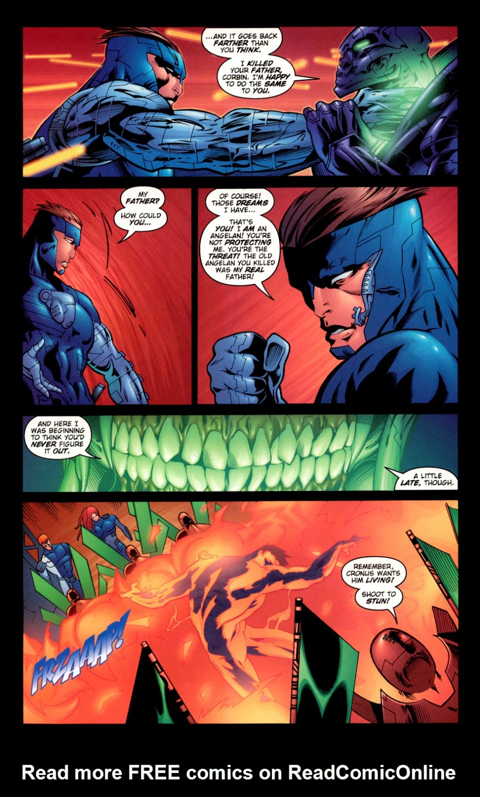 Read online C-23 comic -  Issue #3 - 22