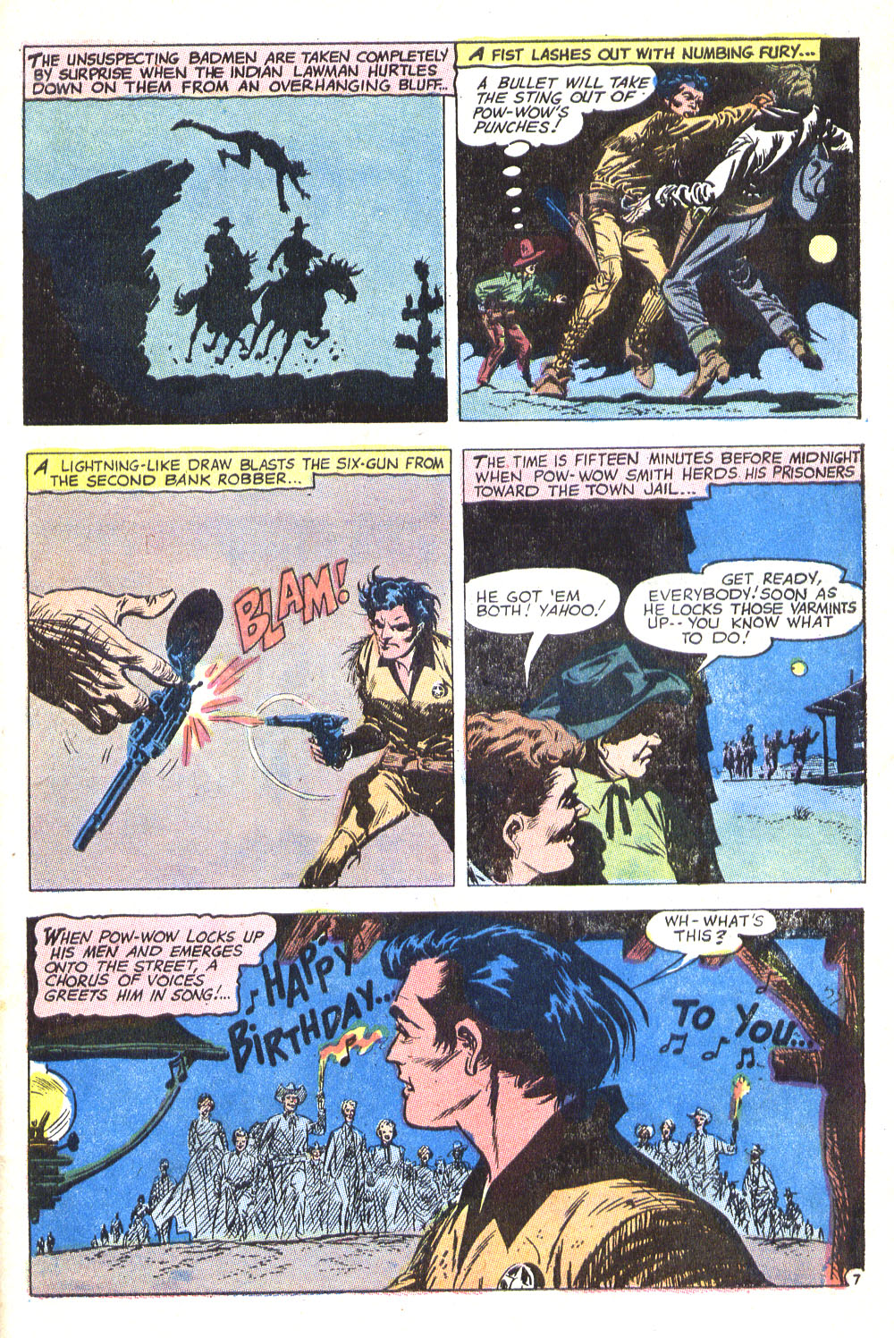 Read online All-Star Western (1970) comic -  Issue #8 - 35