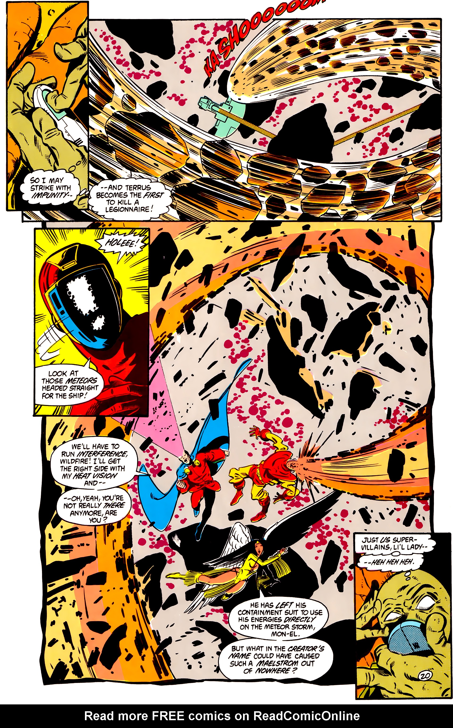 Legion of Super-Heroes (1984) 2 Page 21